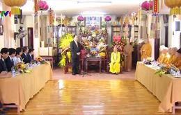 Chủ tịch nước tới thăm, chúc mừng Pháp chủ Giáo hội Phật giáo Việt Nam