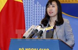 Việt Nam đã giao thiệp nghiêm khắc về phát biểu của Tổng thống Hàn Quốc