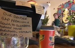 Quán cafe ở Australia tính thêm phí cho khách hàng nam