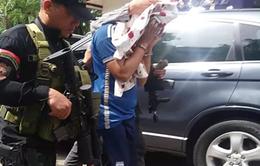 Philippines bắt thành viên cấp cao của nhóm phiến quân Maute