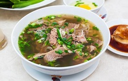 Phở Việt lại lọt top 10 món đường phố được yêu thích