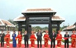 Phó Chủ tịch nước tham dự lễ khánh thành Khu lưu niệm đồng chí Võ Chí Công