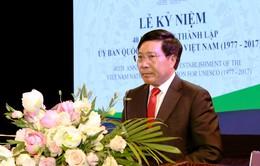 40 năm thành lập Ủy ban Quốc gia UNESCO Việt Nam