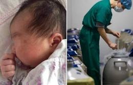 Em bé chào đời từ phôi đông lạnh 16 năm tại Trung Quốc