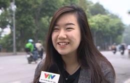 Lời chúc của người dân Hà Nội cho các VĐV nữ