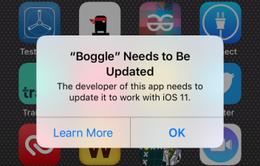 Cân nhắc khi nâng cấp lên iOS 11 nếu không muốn mất sạch ứng dụng