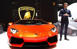 Lamborghini xác lập kỷ lục bán xe mới trong năm 2016