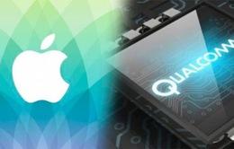 Apple 'quyết đấu' Qualcomm vì không trả 1 tỷ USD bản quyền
