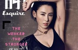 Trương Bá Chi khoe hình xăm gợi cảm trong loạt ảnh mới