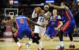 Detroit Pistons hạ gục Toronto Raptors ở những phút cuối cùng