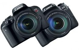 Cận cảnh bộ đôi DSLR EOS 77D và Rebel T7i của Canon