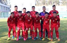 U18 Việt Nam bị chia điểm đáng tiếc tại trận khai màn giải quốc tế ASEAN- Côn Minh 2017