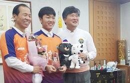 Xuân Trường làm đại sứ Olympic mùa Đông 2018