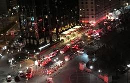 Mỹ: Cháy khách sạn Trump ở New York