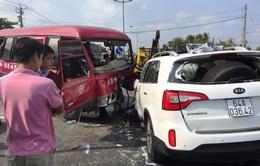 Tai nạn liên hoàn trên đường dẫn cao tốc TP.HCM - Trung Lương, 1 người tử vong