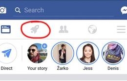 Giải mã nút 'rocket' mới trên ứng dụng Facebook