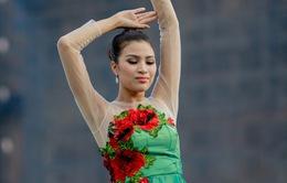 Nguyễn Thị Thành bất ngờ lọt Top 10 Hoa hậu tài năng tại Miss Eco International 2017