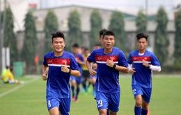 Buổi tập đầu tiên của U20 Việt Nam tại Hà Nội: Thử thách sức bền