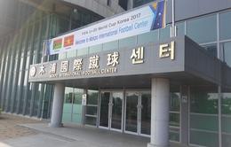 Cận cảnh nơi đóng quân và tập huấn của ĐT U20 Việt Nam tại Hàn Quốc