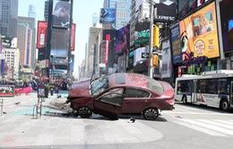 Hiện trường vụ lao xe khiến 23 người thương vong ở Quảng trường Thời đại