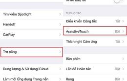 Cách tắt tiếng khi chụp ảnh cho iPhone Lock