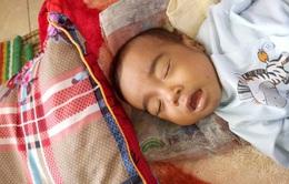 Nhói lòng bé 10 tháng tuổi bị teo mật bẩm sinh