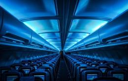 Tại sao nội thất bên trong máy bay hầu hết đều thiết kế màu xanh?