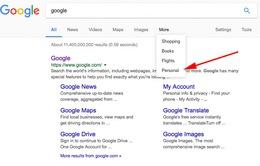 """Google bổ sung tính năng """"Personal"""" hỗ trợ tìm kiếm thông tin cá nhân"""