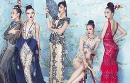 Lan Khuê và học trò nổi bật với phong cách Á Đông