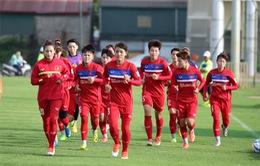 Đội tuyển nữ Việt Nam tập trung rèn thể lực