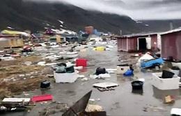 Sóng thần sau động đất tại Greenland, 4 người mất tích