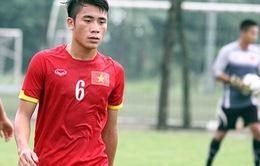 Tiền vệ Bùi Tiến Dụng được triệu tập vào ĐT U22 Việt Nam