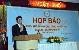 Họp báo Ngày hội thể thao cộng đồng người Việt Berlin-Brandenburg