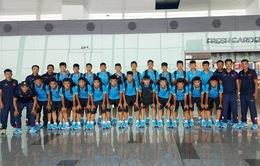 HLV Hoàng Anh Tuấn đồng hành cùng U15 Việt Nam tham dự Giải U15 Đông Nam Á 2017