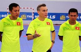"""HLV ĐT Futsal Việt Nam: """"Điều quan trọng nhất là phải tin vào khả năng của bản thân"""""""