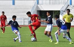 U15 Việt Nam thắng trận ra quân tại giải vô địch U15 AFF 2017
