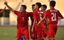 U15 Việt Nam xây chắc ngôi đầu, đoạt vé vào bán kết giải U15 AFF 2017