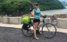 Tìm thấy xe đạp của nữ du khách nước ngoài đi xuyên Việt