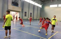 Hướng tới SEA Games 29: Đội tuyển Futsal nữ Quốc gia hoàn thiện những mảnh ghép cuối cùng