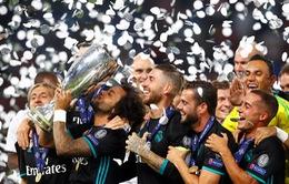 2 đội bóng giành Siêu cúp châu Âu nhiều hơn Real