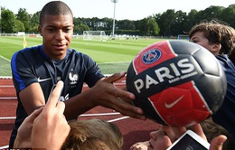 Lộ đội hình siêu khủng của PSG với Mbappe