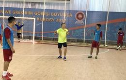 ĐT futsal Việt Nam trước lượt trận thứ hai: Áp lực phải thắng
