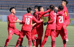 Vòng loại U16 châu Á 2018: Thi đấu thiếu người, U16 Việt Nam vẫn ra quân thắng lợi