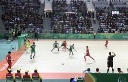 Thắng tối thiểu ĐT Turkmenistan, ĐT Việt Nam vào tứ kết futsal AIMAG 2017