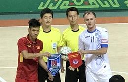 ĐT futsal Việt Nam dừng chân tại Tứ kết AIMAG5