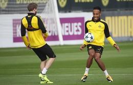 Aubameyang cười rạng rỡ, cùng Dortmund chờ đón đại chiến Real