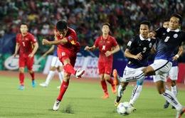 Giá vé trận ĐT Việt Nam - ĐT Campuchia tại SVĐ Mỹ Đình thấp nhất là 100.000 đồng