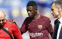 """Lý do khiến """"bom tấn"""" của Barcelona chấn thương nghiêm trọng"""