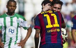 Messi từng nhiều lần nhường đá phạt đền cho Neymar