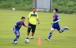 ĐT Việt Nam tập buổi đầu tiên, tự tin hướng tới trận tái đấu với ĐT Campuchia